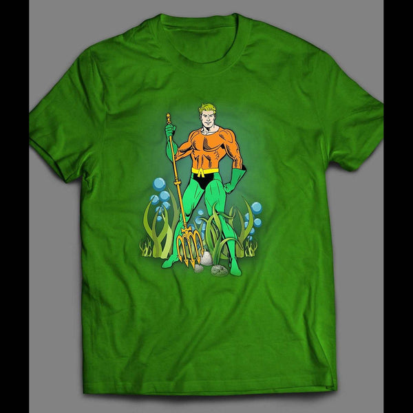 DC COMICS VINTAGE AQUAMAN T-SHIRT - Old Skool Shirts