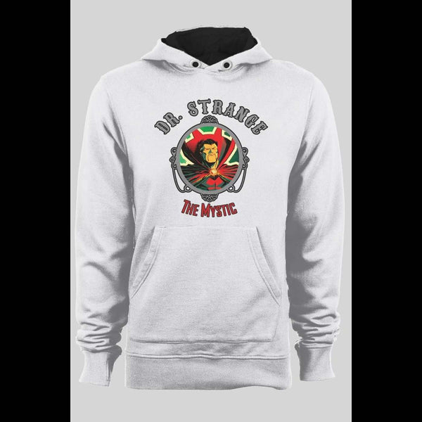 "DR. STRANGE ""THE MYSTIC"" RETRO WINTER HOODIE - Old Skool Shirts"