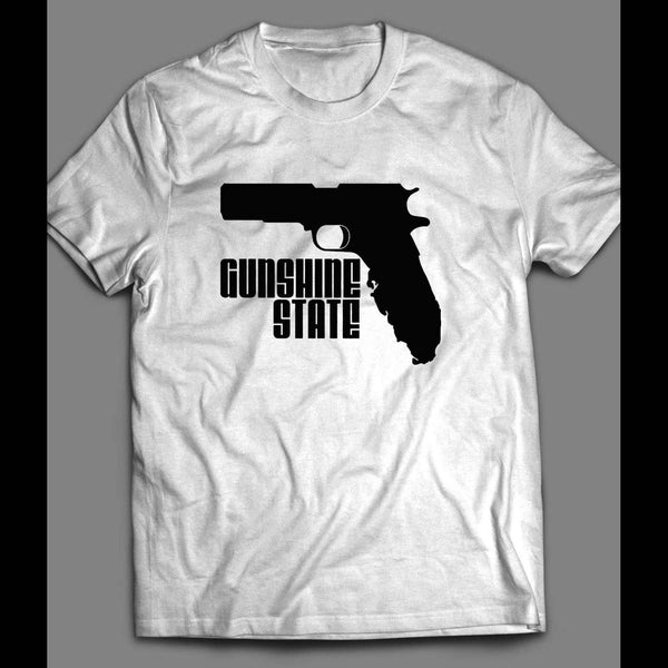 "FLORIDA GUN RIGHTS ""GUNSHINE STATE"" CUSTOM SHIRT - Old Skool Shirts"