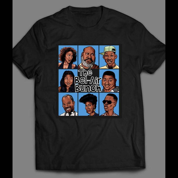 FRESH PRINCE OF BEL-AIR/ BRADY BUNCH STYLE PARODY SHIRT - Old Skool Shirts