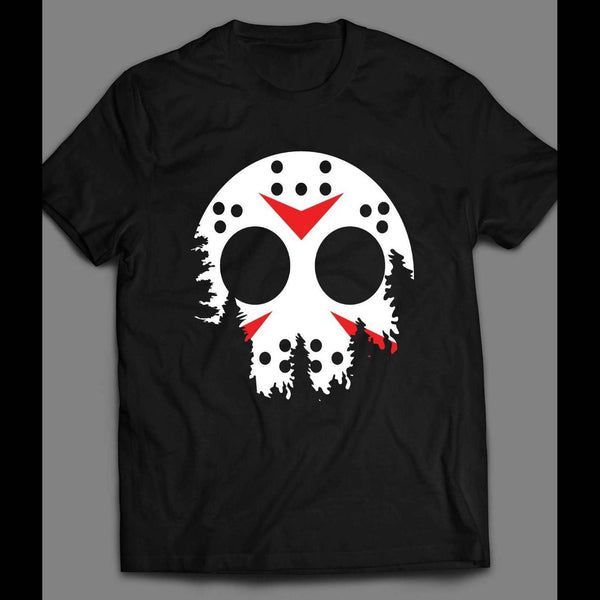 FRIDAY THE 13TH'S JASON'S HOCKEY MASK MOON LIGHT T-SHIRT