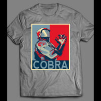 G.I. JOE'S COBRA COMMANDER POP ART VINTAGE CARTOON T-SHIRT