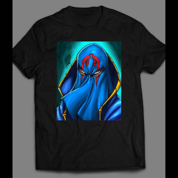 G.I. JOE'S COBRA COMMANDER RETRO ART T-SHIRT