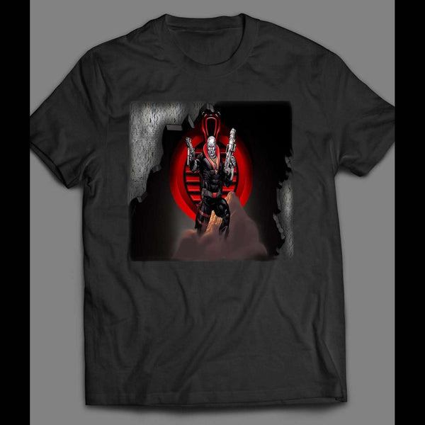 G.I. JOE'S COBRA'S DESTRO VINTAGE CARTOON T-SHIRT