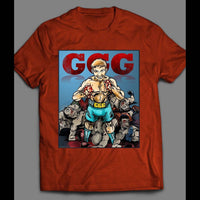 GENNDAY GOLOVKIN (GGG) CARTOON ART BOXING T-SHIRT