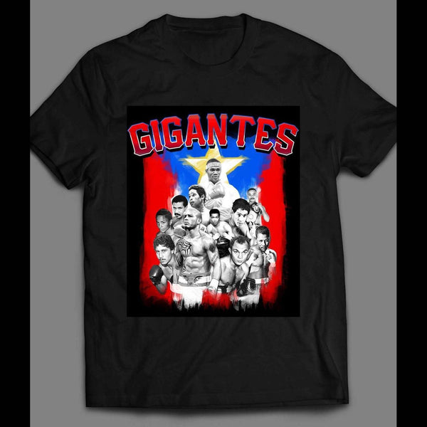 GIGANTES, PUERTO RICAN BOXING LEGENDS SHIRT - Old Skool Shirts