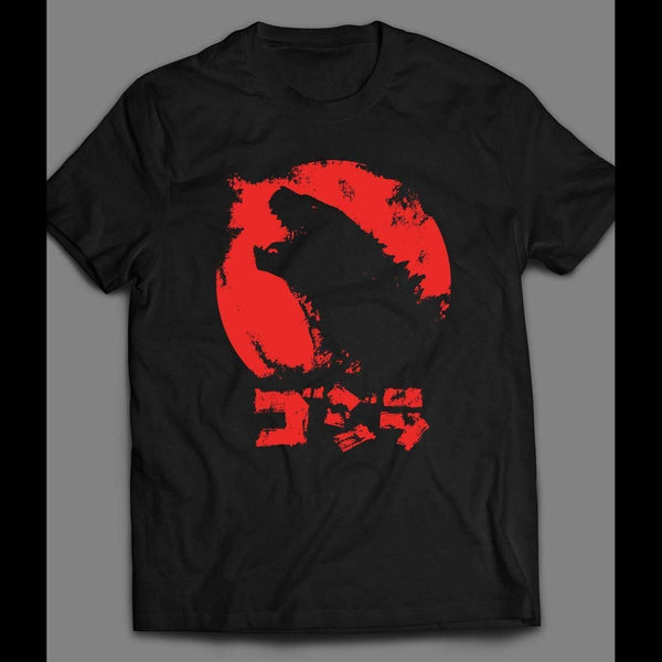 YOUTH SIZE GODZILLA JAPANESE VERSION MOVIE SHIRT - Old Skool Shirts