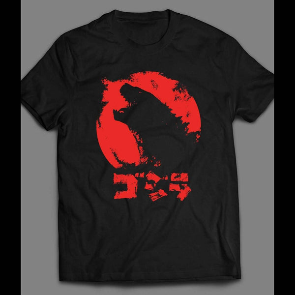 GODZILLA JAPANESE VERSION MOVIE SHIRT - Old Skool Shirts