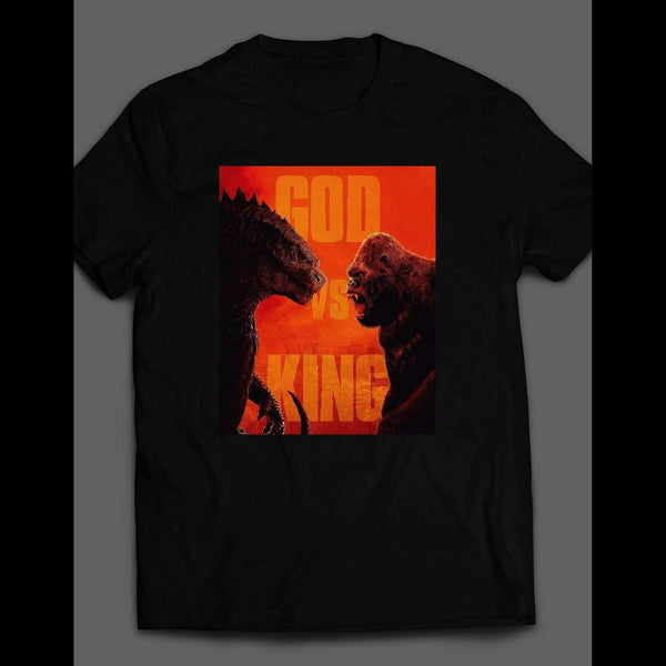 GODZILLA VS KING KONG SHIRT - Old Skool Shirts