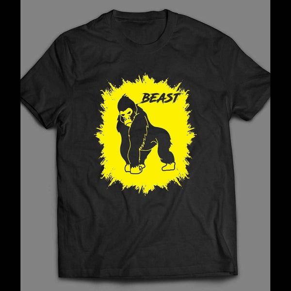 GORILLA BEAST GYM/WORKOUT SHIRT - Old Skool Shirts