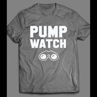 "GYM/ FITNESS/ WORKOUT ""PUMP WATCH"" SHIRT - Old Skool Shirts"