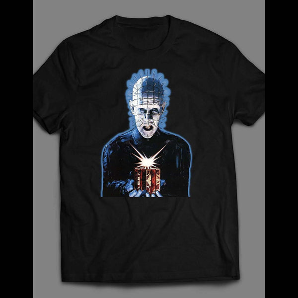 HELLRAISER PINHEAD PUZZLE BOX SHIRT - Old Skool Shirts