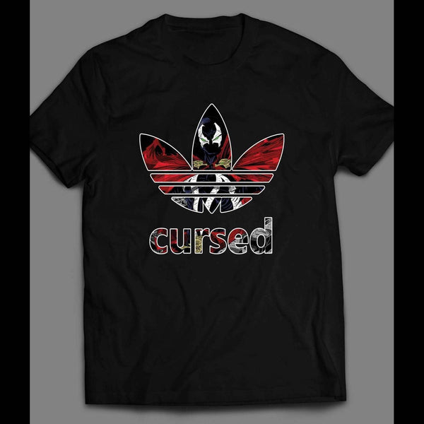 IMAGE SPAWN CURSED COMIC BOOK ART SPORT SHIRT - Old Skool Shirts