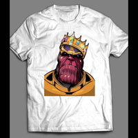 INFINITY WAR VILLAIN, THANOS THE KING SHIRT - Old Skool Shirts