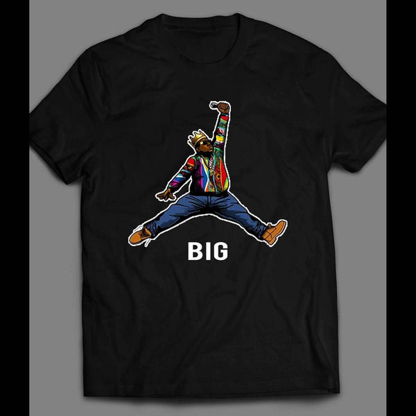 JUMP MAN BIGGIE SMALLS MASH UP T-SHIRT
