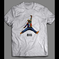 JUMP MAN BIGGIE SMALLS MASH UP SHIRT - Old Skool Shirts