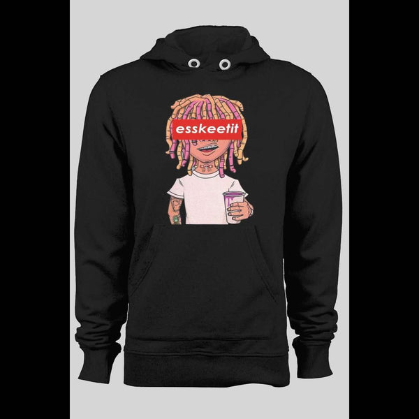 "LIL PUMP ""ESSKEETIT"" WINTER HOODIE - Old Skool Shirts"