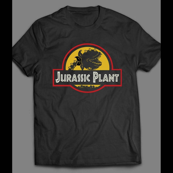 LITTLE SHOP OF HORRORS JURASSIC PLANT MOVIE T-SHIRT - Old Skool Shirts