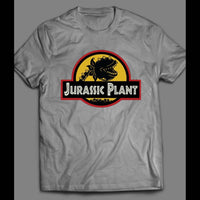 LITTLE SHOP OF HORRORS JURASSIC PLANT MOVIE SHIRT - Old Skool Shirts