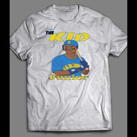"MARINER'S KEN GRIFFEY JR ""THE KID"" VINTAGE SHIRT - Old Skool Shirts"