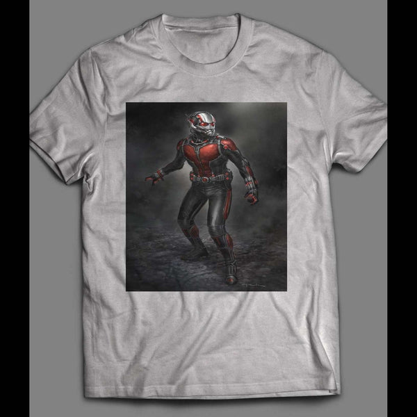 ANT MAN MOVIE ART POSTER T-SHIRT - Old Skool Shirts