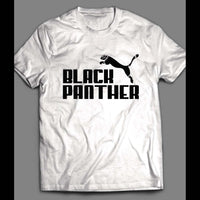 "BLACK PANTHER ""PUMA"" MASH UP SHIRT - Old Skool Shirts"