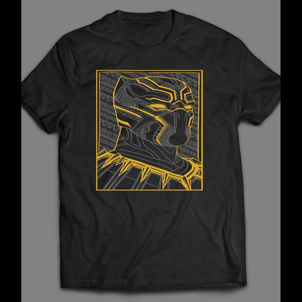 BLACK PANTHER ART SHIRT - Old Skool Shirts