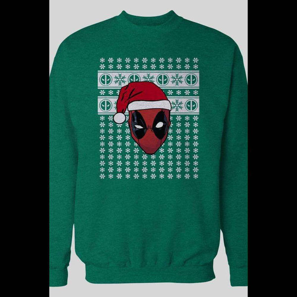 DEADPOOL COMICS CUSTOM OLDSKOOL SANTA CHRISTMAS SWEATER - Old Skool Shirts
