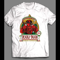 'S DEADPOOL TACOS MOVIE PARODY T-SHIRT - Old Skool Shirts