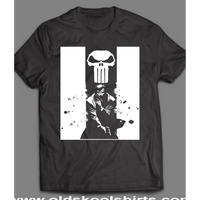 THE PUNISHER COMIC BOOK ART SHIRT - Old Skool Shirts