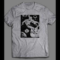 THE SILVER SURFER COMIC BOOK ART SHIRT - Old Skool Shirts