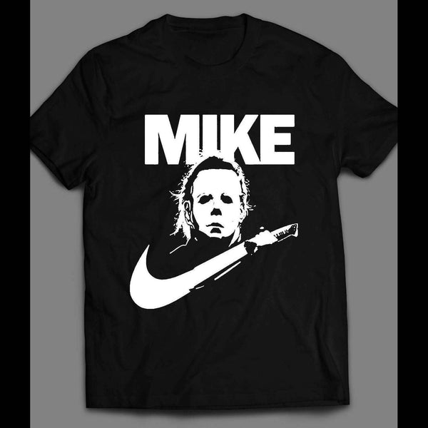 YOUTH SIZE MIKE MYERS SHOE PARODY HALLOWEEN SHIRT - Old Skool Shirts
