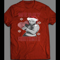 "MIKE TYSON ""MERRY CHRITHMITH"" FUNNY CHRISTMAS SHIRT - Old Skool Shirts"