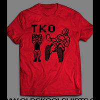 "MIKE TYSON'S PUNCH OUT ""TKO"" SHIRT - Old Skool Shirts"