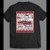 MIKE TYSON'S PUNCH OUT CHARACTERS FIGHT POSTER SHIRT - Old Skool Shirts