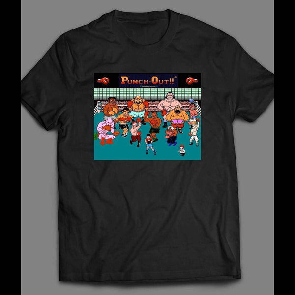 MIKE TYSON'S PUNCH OUT CHARACTERS T-SHIRT - Old Skool Shirts