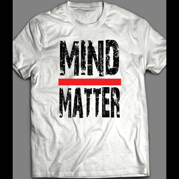 MIND OVER MATTER MEN'S GYM SHIRT - Old Skool Shirts