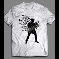 MUHAMMAD ALI FLOATS LIKE A BUTTERFLY VINTAGE BOXING SHIRT - Old Skool Shirts