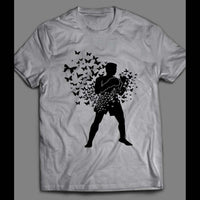 MUHAMMAD ALI FLOATS LIKE A BUTTERFLY VINTAGE BOXING T-SHIRT