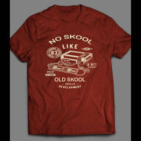 NO SKOOL LIKE THE OLDSKOOL 8-BIT GAMER ART SHIRT - Old Skool Shirts