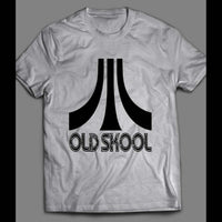 OLDSKOOL ATARI PARODY SHIRT - Old Skool Shirts