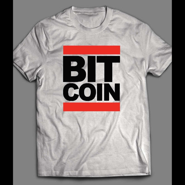 OLDSKOOL HIP HOP STYLE BIT COIN PARODY CUSTOM ART SHIRT - Old Skool Shirts