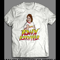 OLDSKOOL ROWDY RODDY PIPER SHIRT - Old Skool Shirts