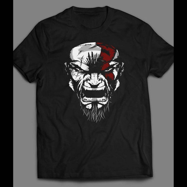 PLAYSTATION GOD OF WAR'S KRATOS CUSTOM ART SHIRT - Old Skool Shirts