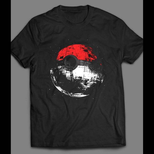POKE DEATH STAR (POKEMON STAR WARS MASH UP) SHIRT - Old Skool Shirts