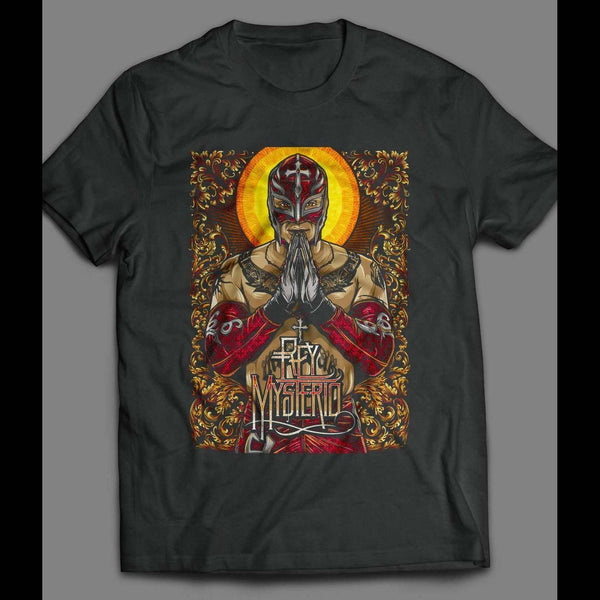 PRO WRESTLER REY MYSTERIO ART SHIRT - Old Skool Shirts