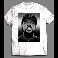 RAPPER ICE CUBE ART SHIRT - Old Skool Shirts