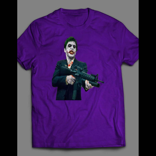 SCARFACE JOKER PARODY T-SHIRT