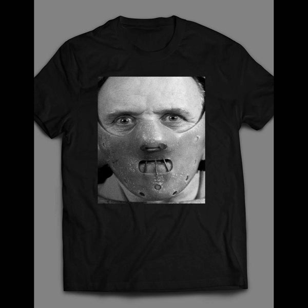 SILENCE OF THE LAMBS HANNIBAL LECTER SHIRT - Old Skool Shirts