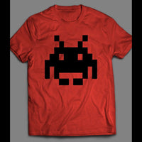 SPACE INVADER'S PIXEL ALIEN T-SHIRT